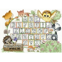 Woodland Folk Large Sampler